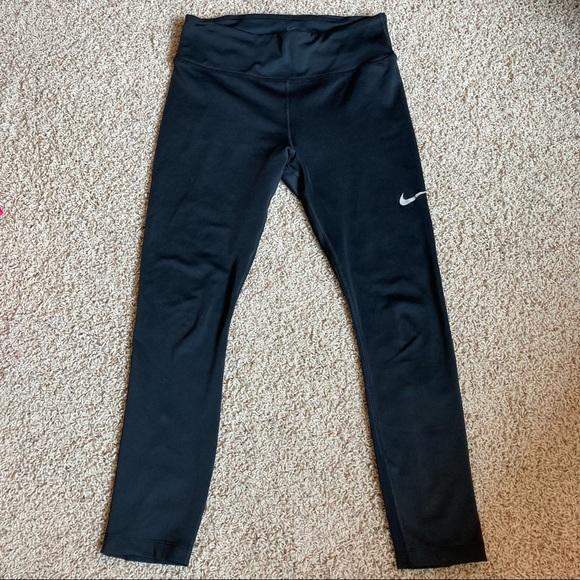 Nike Dri Fit Running Cropped Capri Leggings Tights